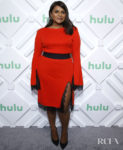 Mindy Kaling Was The Lady In Red For Hulu Upfront