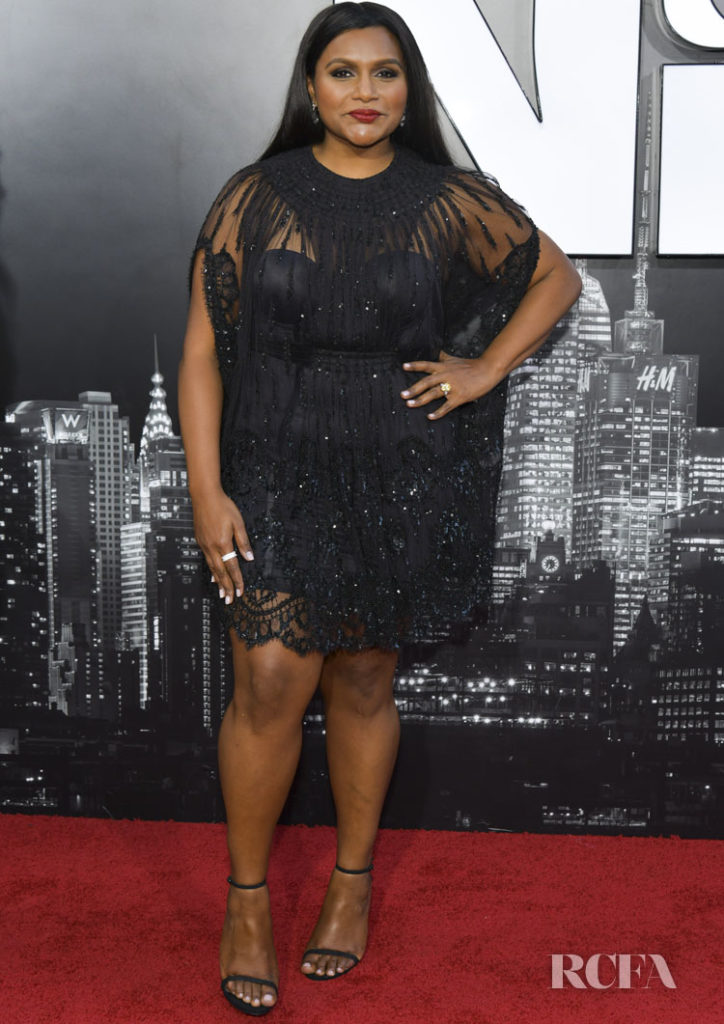 Mindy Kaling's LBD For The 'Late Night' LA Premiere
