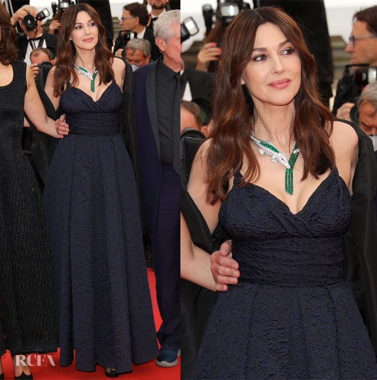 Monica Bellucci In Christian Dior Les Plus Belles Annees