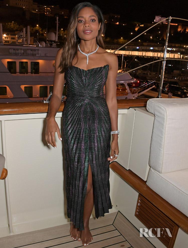Naomie Harris' In Marco de Vincenzo - 2019 Monaco E-Prix 'Casino Royale'