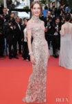 Natalia Vodianova In Atelier Versace - 'La Belle Epoque' Cannes Film Festival Premiere