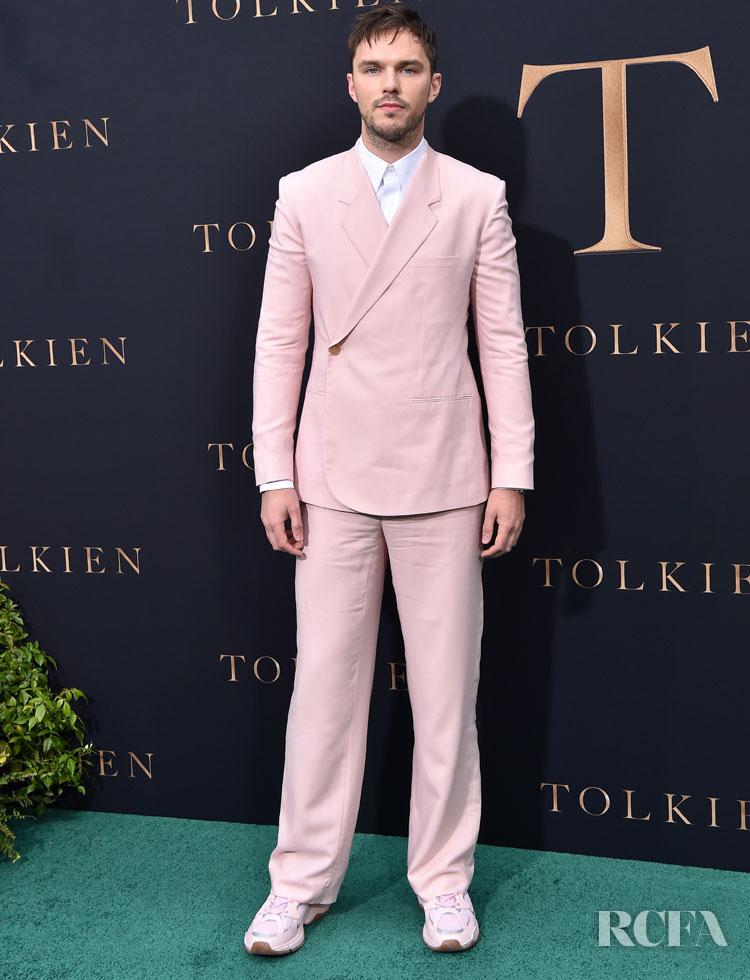 Nicholas Hoult In Dior Men 'Tolkien' LA Premiere