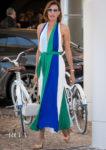 Nieves Alvarez's Cannes Street Style