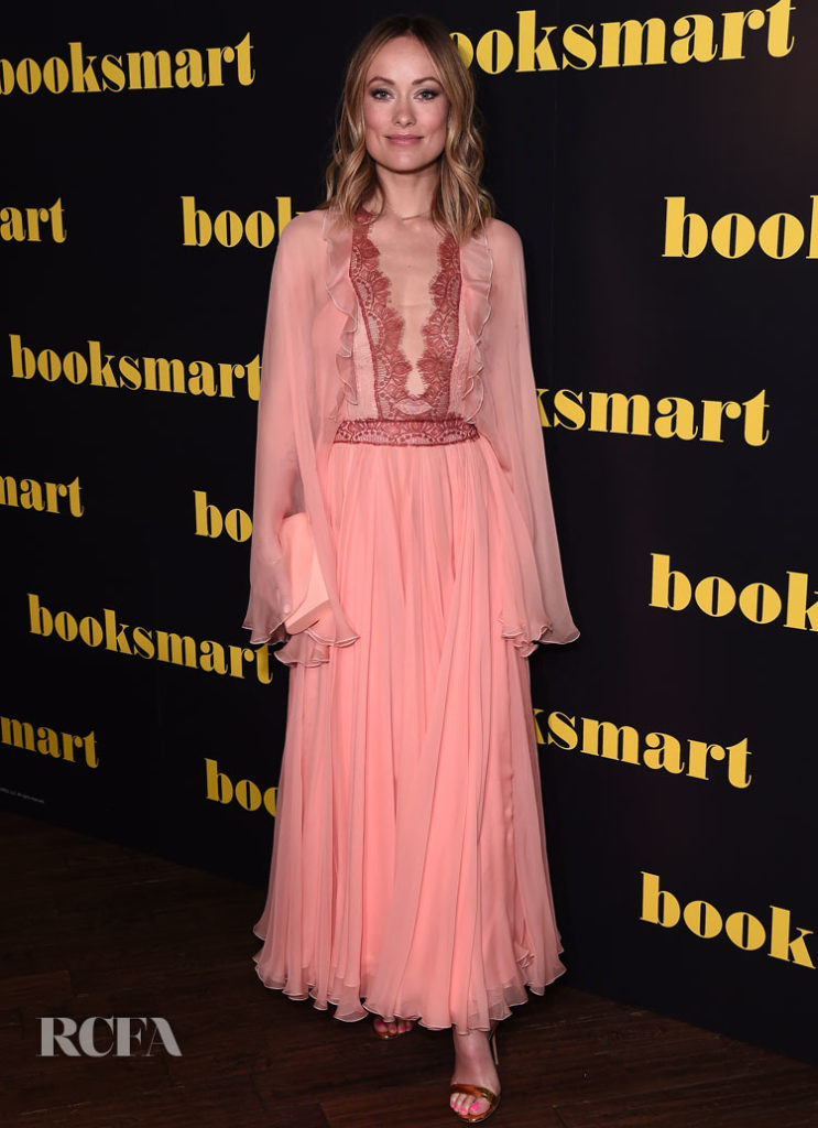 Olivia Wilde In Giambattista Valli Booksmart' London Screening