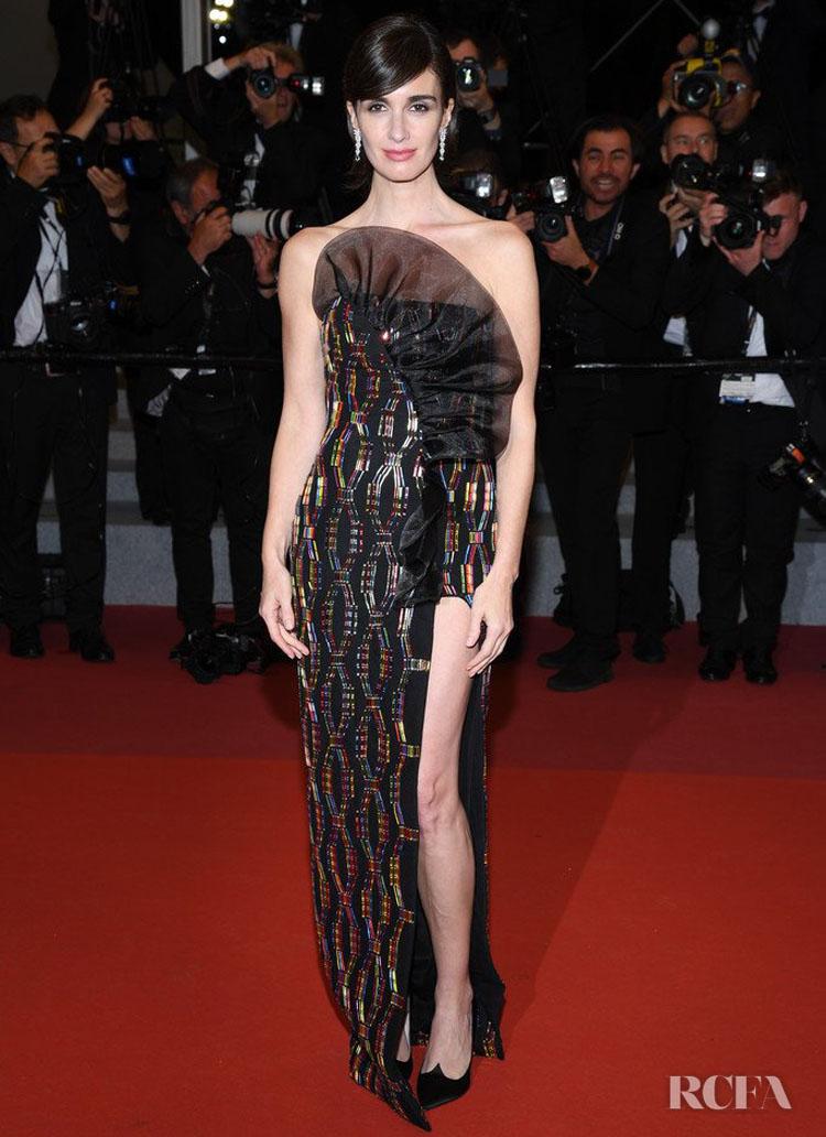 Paz Vega In Rami Kadi & Ralph & Russo Couture - 'Rambo' Cannes Film Festival Premiere & Closing Ceremony