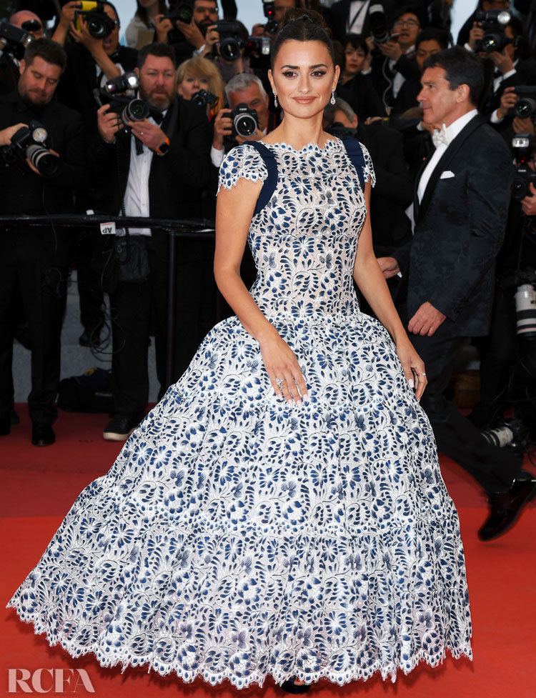 Penelope Cruz In Chanel Haute Couture - 'Pain And Glory (Dolor Y Gloria/ Douleur Et Glorie)' Cannes Film Festival Premiere