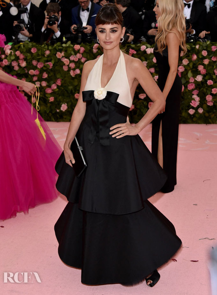 Penelope Cruz In Chanel Haute Couture - 2019 Met Gala