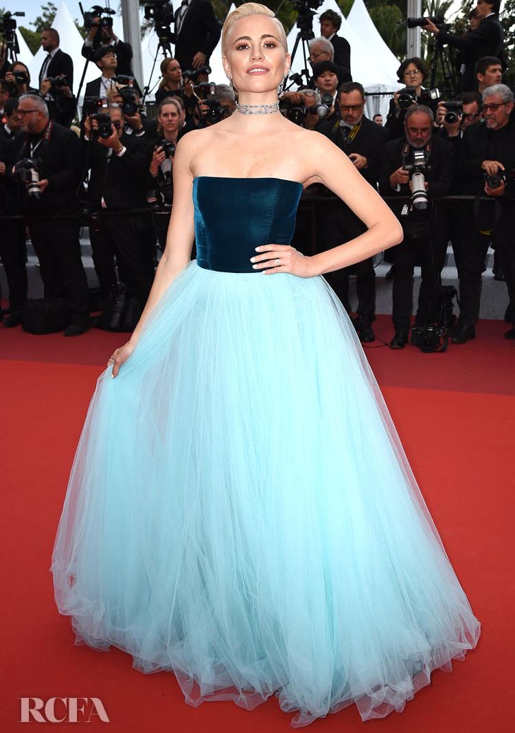 Pixie Lott In Yanina Couture - 'La Belle Epoque' Cannes Film Festival Premiere