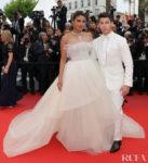 Priyanka Chopra In Georges Hobeika Bridal - 'Les Plus Belles Annees D'Une Vie' Cannes Film Festival Premiere