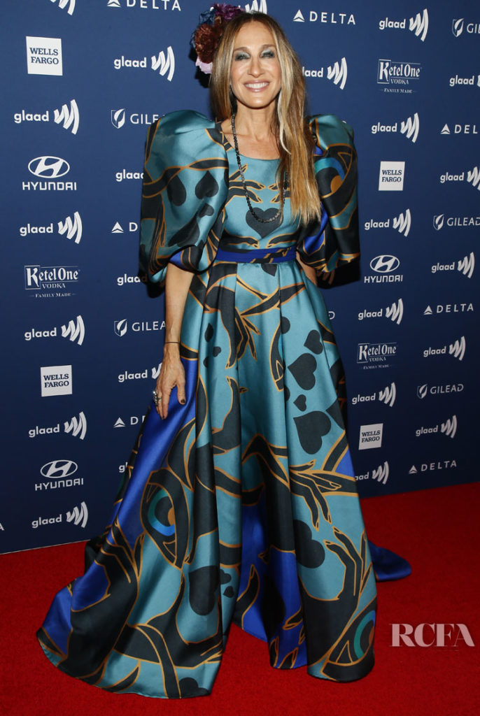 Sarah Jessica Parker In Elie Saab GLAAD Media Awards