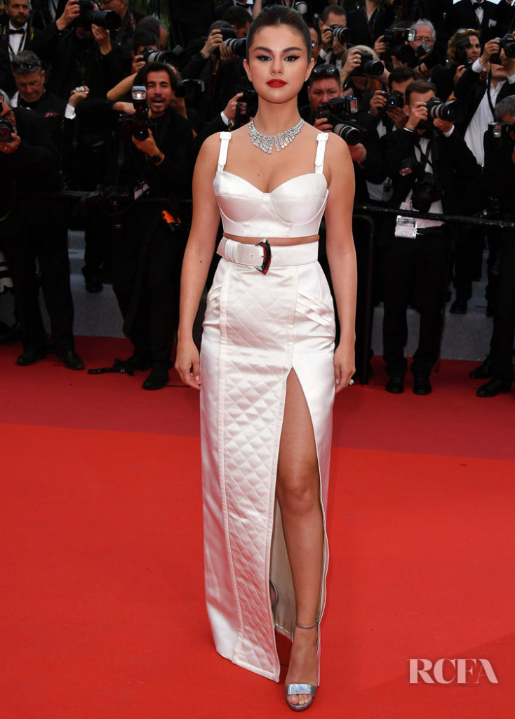 Selena Gomes In Louis Vuitton - 'The Dead Don't Die' Cannes Film Festival Premiere & Opening Ceremony