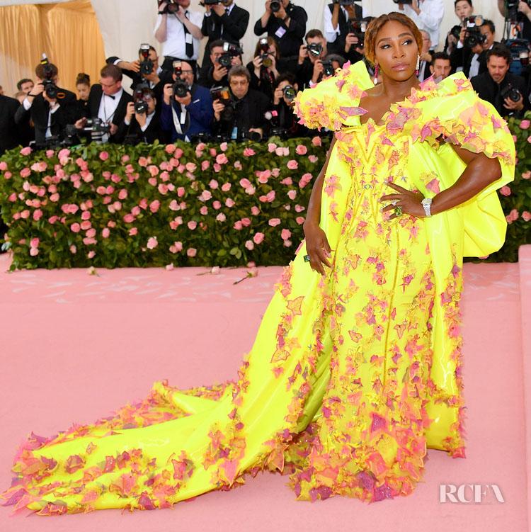 Serena Williams In Atelier Versace - 2019 Met Gala