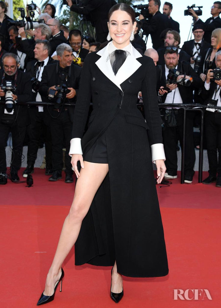 Shailene Woodley In Christian Dior Haute Couture - 'Rocketman' Cannes Film Festival Premiere