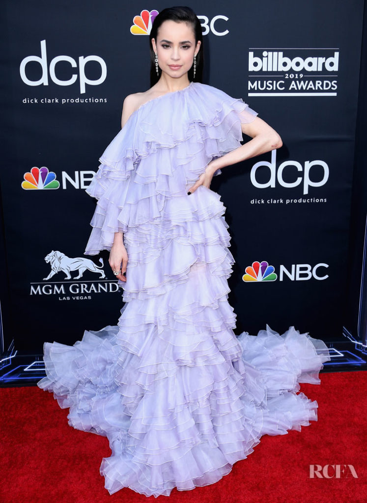 Sofia Carson In Giambattista Valli Haute Couture - 2019 Billboard Music Awards