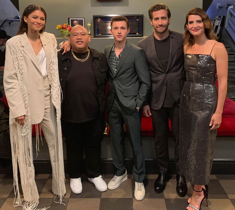 Spider Man Far From Home Cast Visit Jimmy Kimmel Live Red
