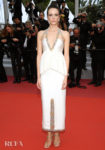 Stacy Martin In Chanel Haute Couture - 'Sibyl' Cannes Film Festival Premiere