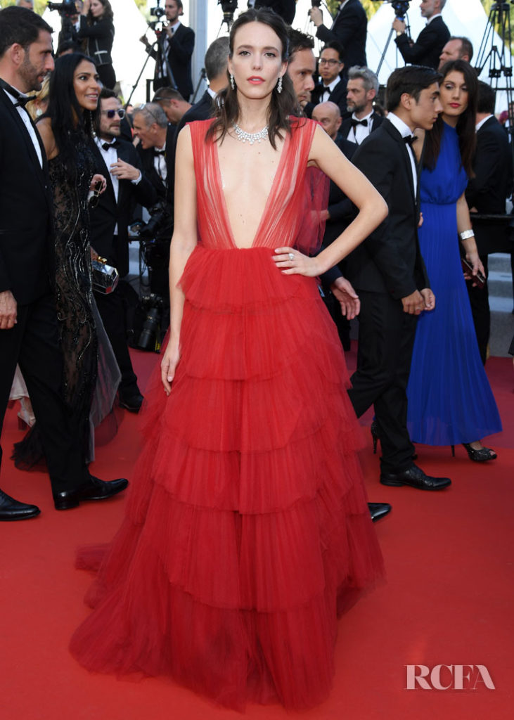 Stacy Martin In Christian Dior Haute Couture - Cannes Film Festival Closing Ceremony