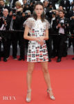 Stacy Martin In Louis Vuitton - 'Oh Mercy!' Cannes Film Festival Premiere