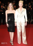 Tilda Swinton In Chanel - 'Parasite' Cannes Film Festival Premiere