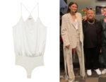 Zendaya's L'Agence Mariela Bodysuit