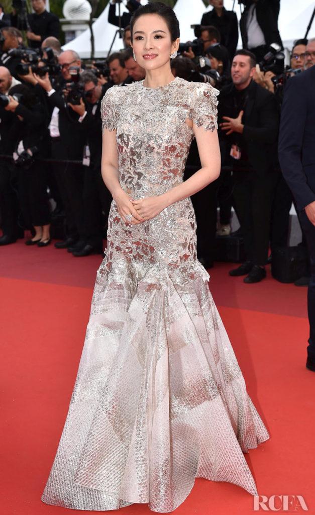 Zhang Ziyi In Givenchy Haute Couture - 'La Belle Epoque' Cannes Film Festival Premiere