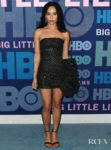 Zoe Kravitz's Mini With A Maxi Bow For The 'Big Little Lies' Season 2 Premiere