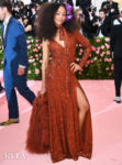 Zoe Saldana In Michael Kors Collection - 2019 Met Gala