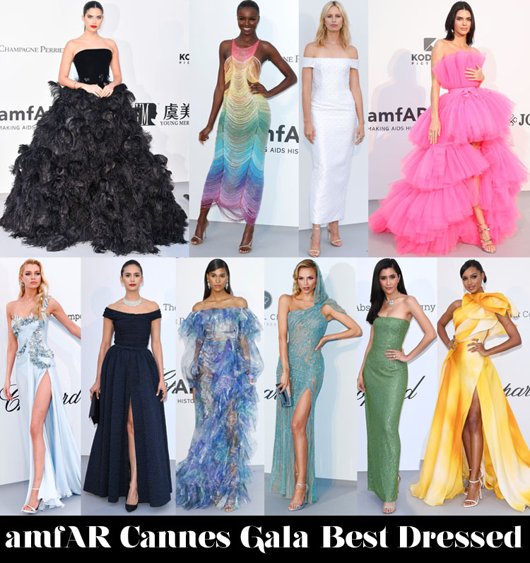 Who Was Your Best Dressed At The amfAR Cannes Gala 2019?