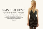 NET-A-PORTER's Exclusive Saint Laurent Capsule Collection