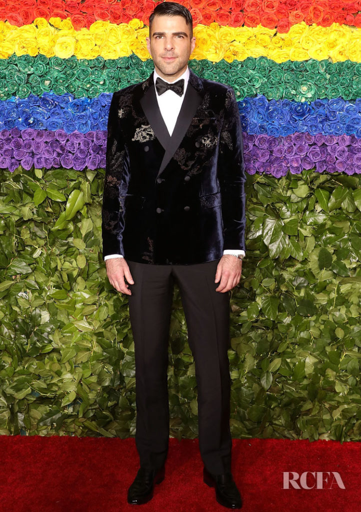 Zachary Quinto in Armani - 2019 Tony Awards