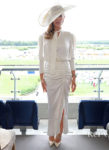 Abbey Clancy's Fashionable Appearance At Royal Ascot 17 Days After Giving Birth