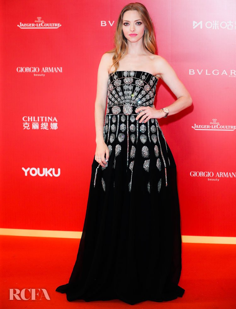 Amanda Seyfried Makes A Return To The Red Carpet For The 2019 Shanghai Film Festival Opening Ceremony