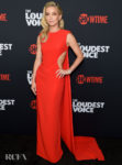 Annabelle Wallis Was Ravishing In Red For 'The Loudest Voice' New York Premiere