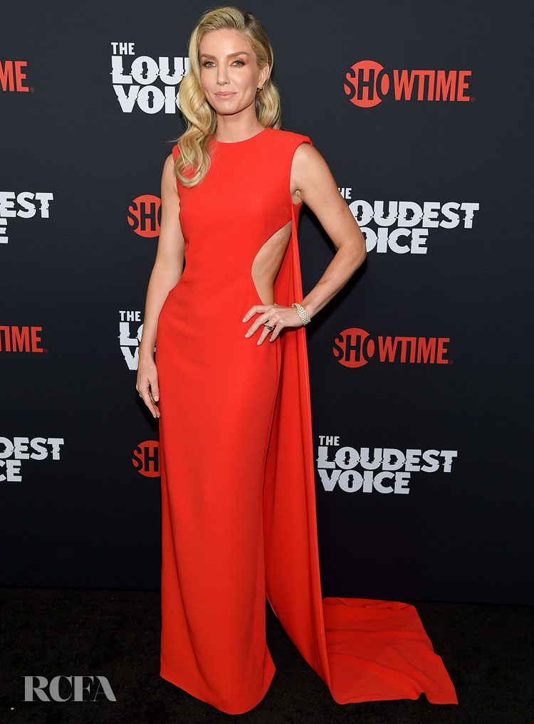 Annabelle Wallis In Stella McCartney 'The Loudest Voice' New York Premiere