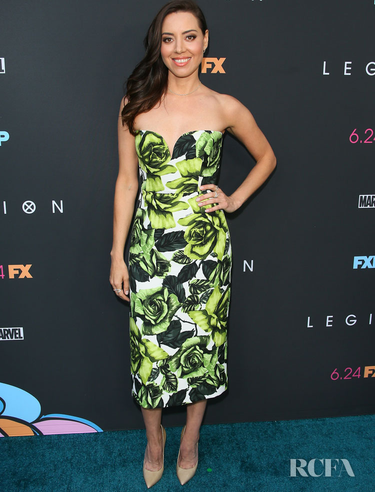 Aubrey Plaza Was Polished In Prada For The LA Premiere of 'Legion' Season 3
