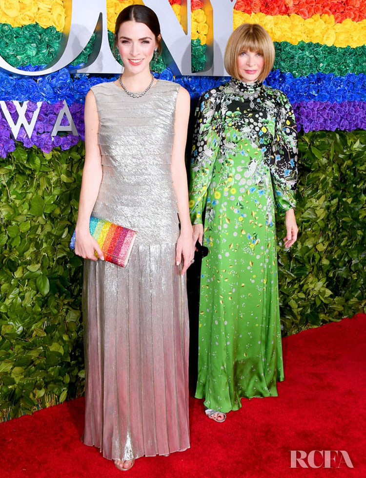 Bee Shaffer & Anna Wintour in Givenchy - 2019 Tony Awards