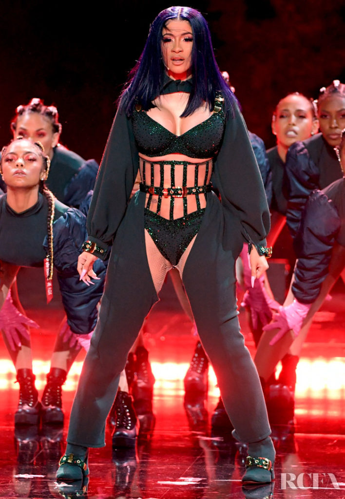 Cardi B Peforms At The 2019 BET Awards In Custom Bryan Hearns