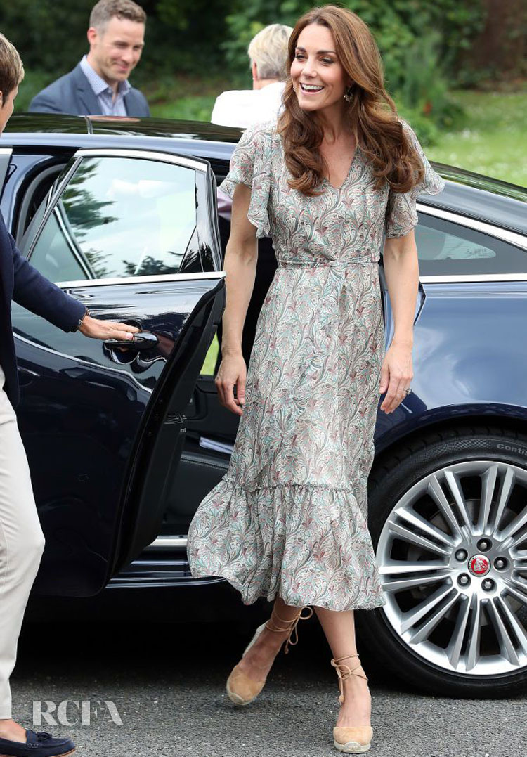 Catherine, Duchess of Cambridge Nails Summer Dressing For The Royal Photographic Society