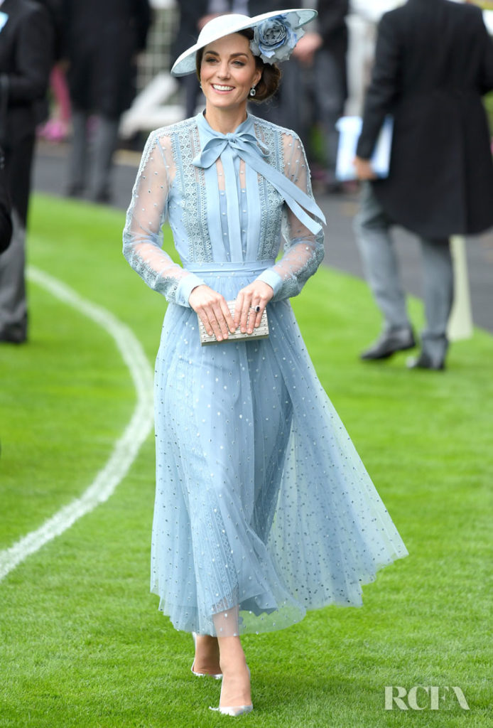 Catherine, Duchess of Cambridge in Elie Saab - 2019 Royal Ascot