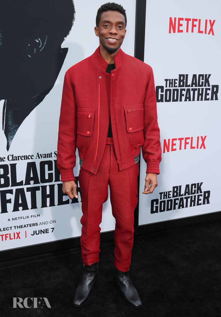 Chadwick Boseman: 'The Black Godfather' LA Premiere