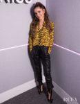 Cheryl Cole Goes Tiger Print Wild On KISS FM