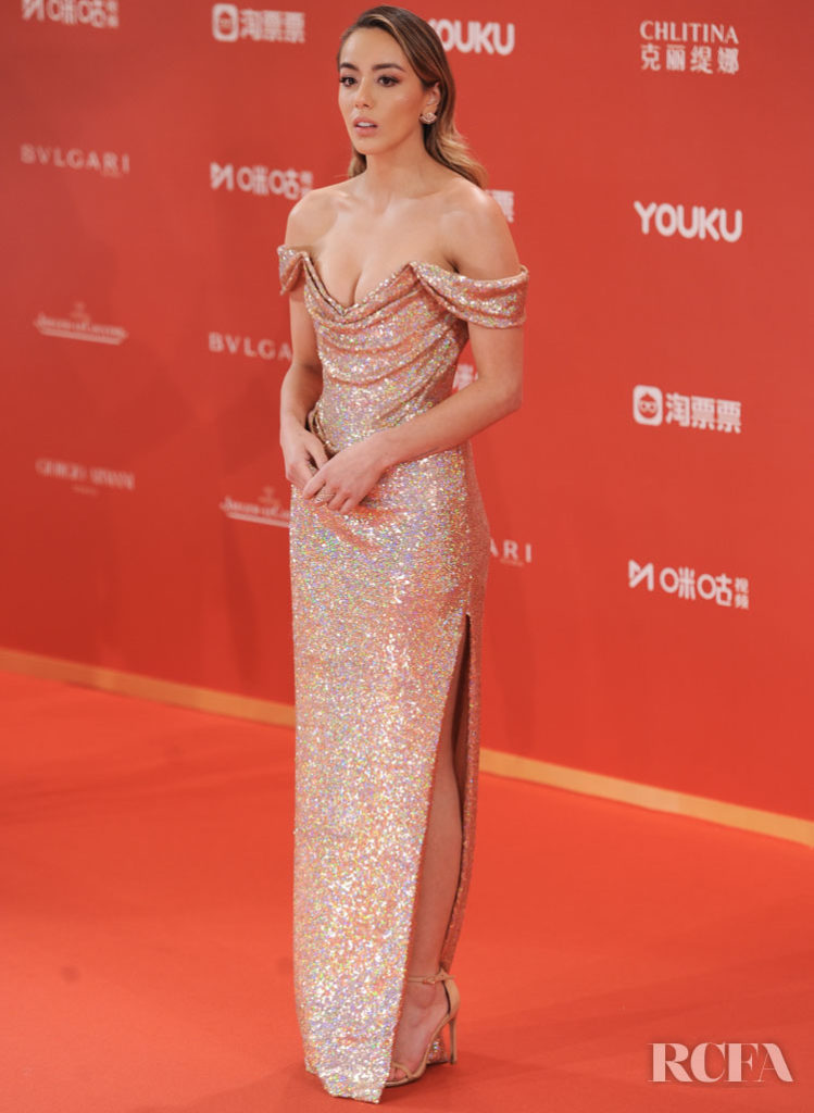 Chloe Bennet In Vivienne Westwood - Shanghai International Film Festival Closing Ceremony