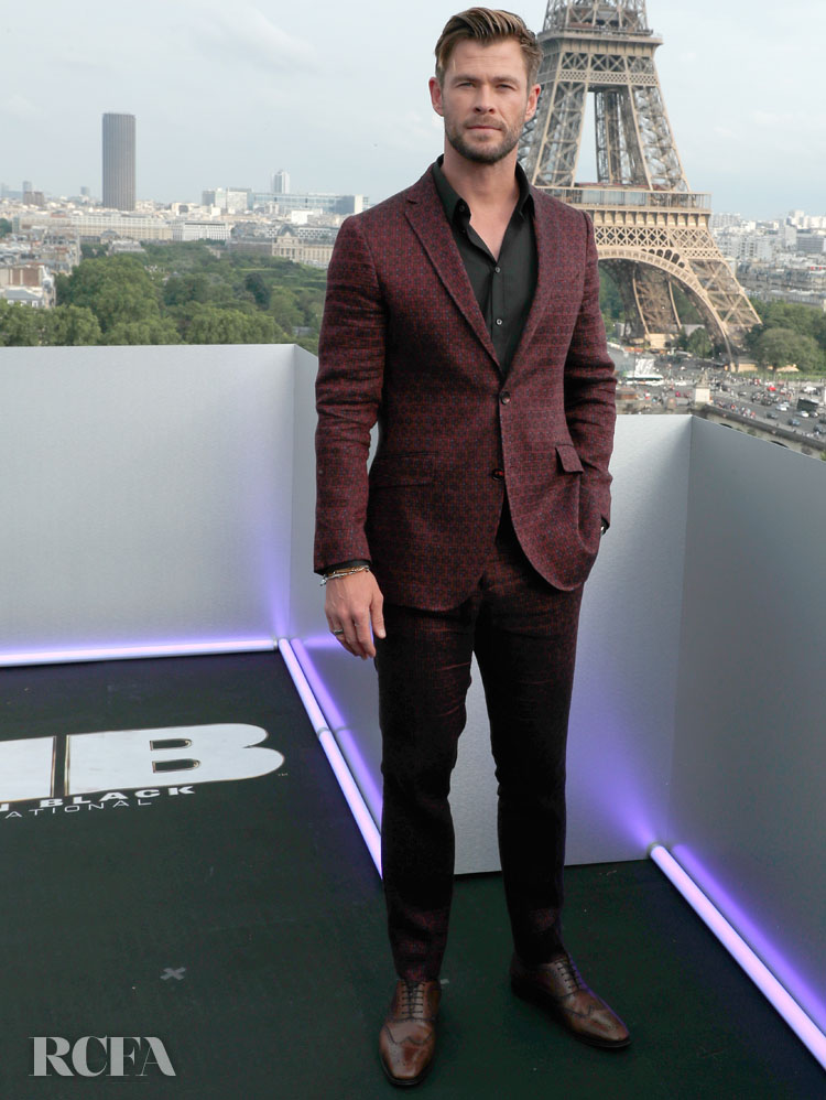 Chris Hemworth:  'Men In Black: International' Paris Photocall: