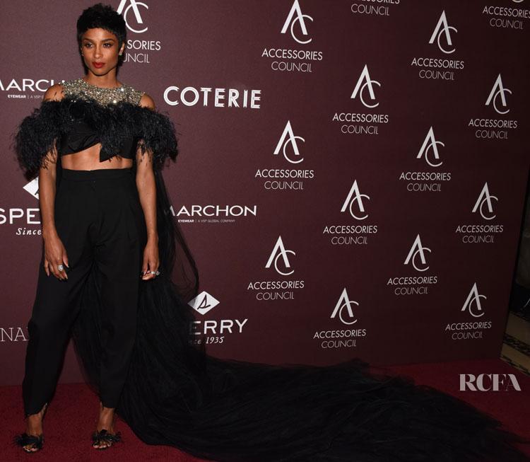 Ciara in Giambattista Valli Haute Couture F/W '18 - 2019 ACE Awards