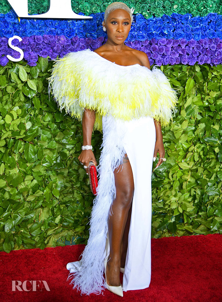Cynthia Erivo In Chris Gelinas - 2019 Tony Awards