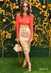 Emily Ratajkowski Flashes Some Skin For The Veuve Clicquot Polo Classic