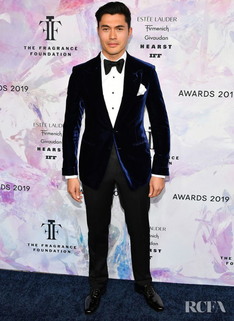 Henry Golding in Tom Ford - 2019 Fragrance Foundation Awards