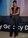Issa Rae Rocks A Rare All Black Look For Samsung's Galaxy Day