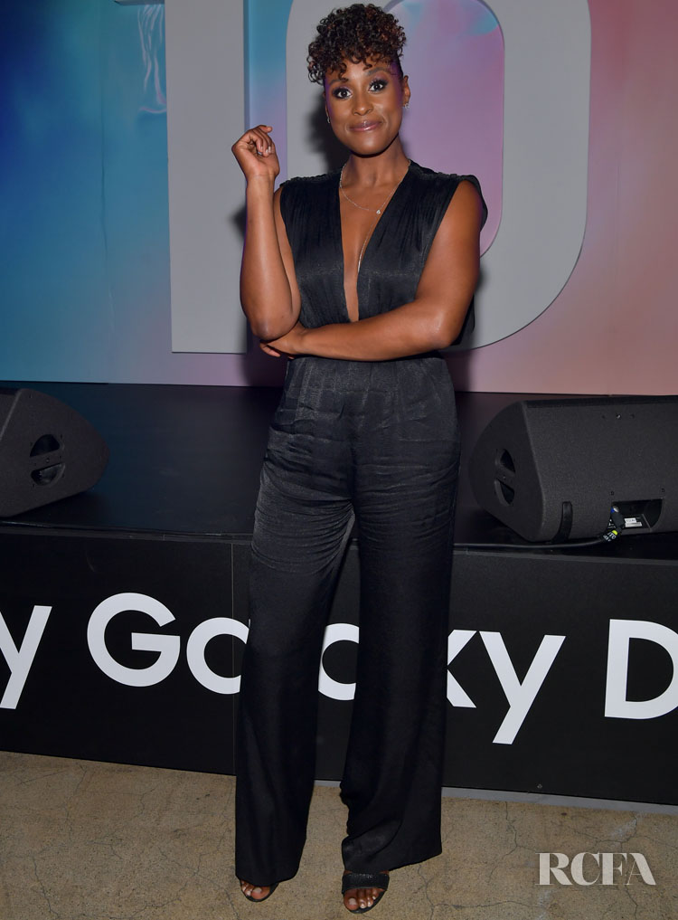 Issa Rae in Derek Lam - Samsung Celebrates Galaxy Day Los Angeles