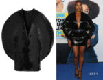 Issa Rae's Balmain Sequinned Mini Dress